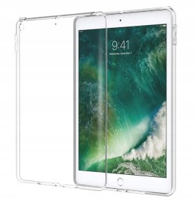 "Etui Silikon na tablet Apple iPad 9.7"" Air 2017/2018 WiFi LTE transparent"