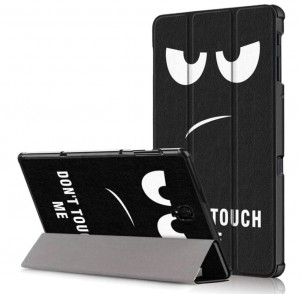 "Etui Cover Grafika do Samsung Galaxy Tab A A2 10 10.5"" T590 T595 SM-T590 i SM-T595  Don't touch me"